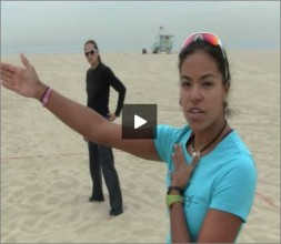 Priscilla Lima Beach Volleyball Communication