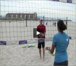 Priscilla Lima Beach Volleyball Defense for Blockers