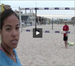 Priscilla Lima Beach Volleyball Passing I