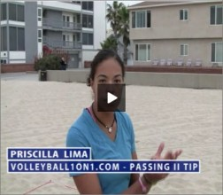 Priscilla Lima Beach Volleyball Passing II