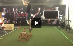 Reid Hall - Video 2 of 4 Plyo Workouts for Volleyball