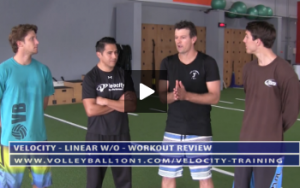 Review of Velocity Workout 1 - Linear Day With Jason Moreno