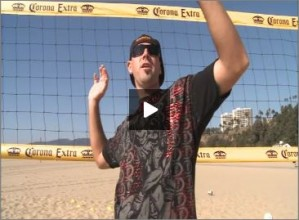Seth Burnham Beach Volleyball Arm Swing
