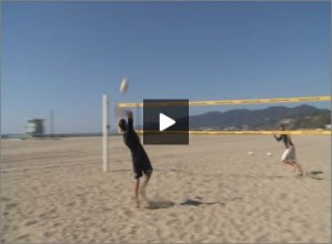 Seth Burnham Beach Volleyball Vollis