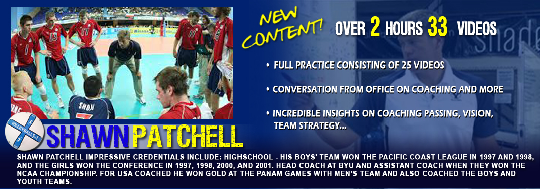 Shawn Patchell Instructional Videos and Drills