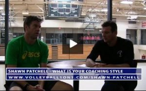 Shawn Patchell Volleyball Coaching Style and Why