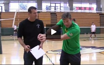 Shawn Patchell - Volleyball Serving and Passing Drill with Tivo