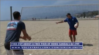 Sinjin Smith on Spiking and the Approach in Beach Volleyball