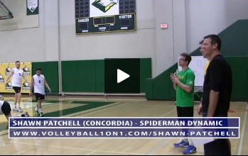 Spiderman Dynamic Volleyball Warm Up Drill