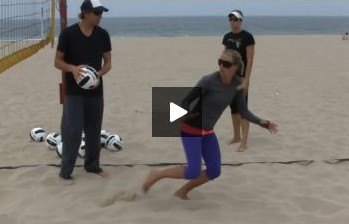 Stein Metzger Beach Volleyball Coaching on Pulling or Dropping from a Block
