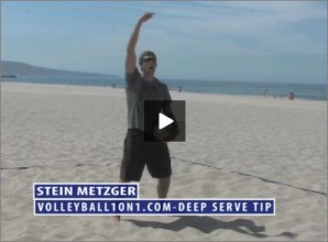 Stein Metzger Beach Volleyball Deep Serve