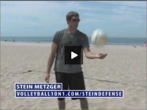Stein Metzger Beach Volleyball Defense