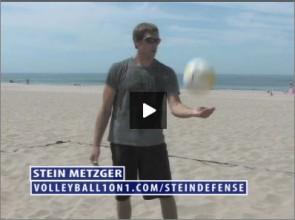 Stein Metzger Beach Volleyball Defense