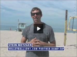 Stein Metzger Beach Volleyball Partner Dump