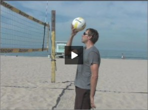 Stein Metzger Beach Volleyball Setting