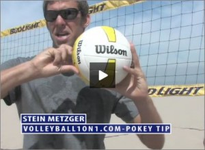 Stein Metzger Beach Volleyball The Pokey
