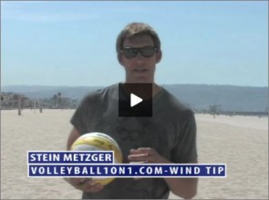 Stein Metzger Beach Volleyball Wind