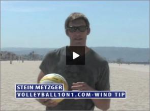 Stein Metzger Beach Volleyball Wind