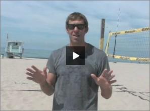 Stein Metzger Beach Volleyball Work the Ref
