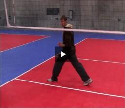 Stein Metzger Volleyball Series Setting Blocking Footwork