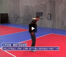 Stein Metzger Volleyball Series Setting Defense First