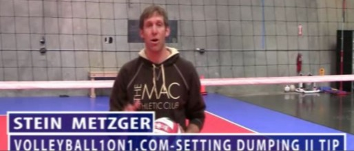 Stein Metzger Volleyball Series Setting Dumping Part 2