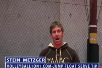 Stein Metzger Volleyball Series Setting Jump Float Serve