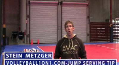 Stein Metzger Volleyball Series Setting Jump Serve