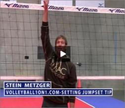 Stein Metzger Volleyball Series Setting Jump Set