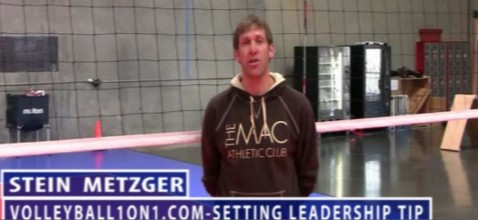 Stein Metzger Volleyball Series Setting Leadership