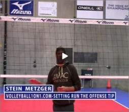 Stein Metzger Volleyball Series Setting Running The Offense