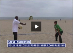 Steve Anderson Beach Volleyball Passing for Beginners