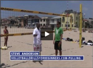 Steve Anderson Beach Volleyball Pulling for Beginners