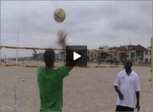 Steve Anderson Beach Volleyball Serving For Beginners