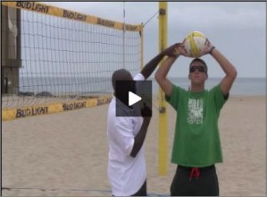 Steve Anderson Beach Volleyball Setting for Beginners