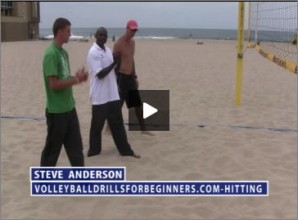 Steve Anderson Beach Volleyball Spiking for Beginners