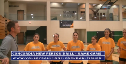 The Volleyball Name Game to Help Build Team Moral with Dan Fisher
