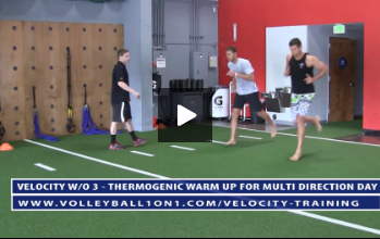 Thermogenic Warm Up -  Velocity Workout 3 - Multi-Directional (Video 1)