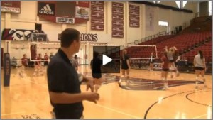Tom Black Controlled 10 Foot Rally Warm Up Drill
