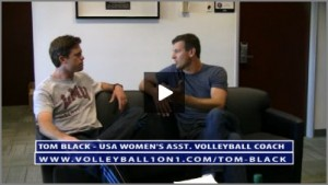 Tom Black Conversations from Office - Life as USA Volleyball Assistant Coach