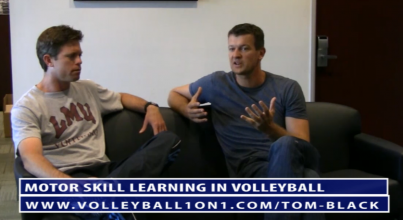 Tom Black Conversations from Office - Motor Skill Learning for Coaching Volleyball