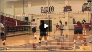 Tom Black - Hitters vs. Diggers Volleyball Drill From Practice 1