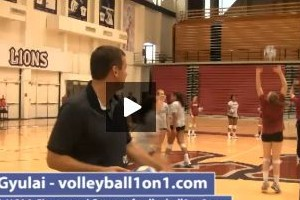 Tom Black Hitting Lines With Pass Warm Up Drill