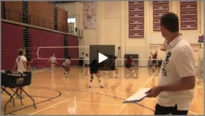 Tom Black - Hut to Five Volleyball Drill From Practice 1