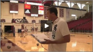 Tom Black LMU College Early Volleyball Warm Up  Drills from Practice 1