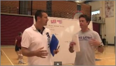 Tom Black Lays Out Volleyball Practice Plan 1 for Viewers
