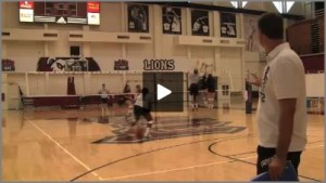 Tom Black Outside Hitter Volleyball Tutor Drills From Practice 1