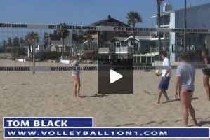 Tom Black Sand Practice Plan 1 - Pass and Approach Beach Drill