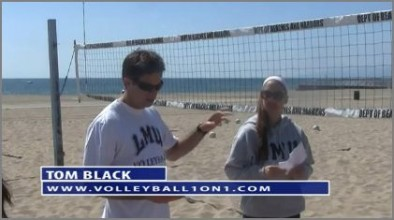 Tom Black Sand Practice Plan 1 - Practice Overview and Serving and Passing