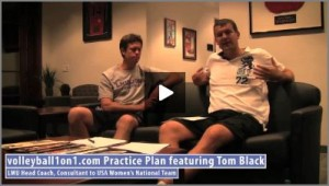 Tom Black Volleyball Conversation from Office Practice  1 -  Middle Hitters Tutor